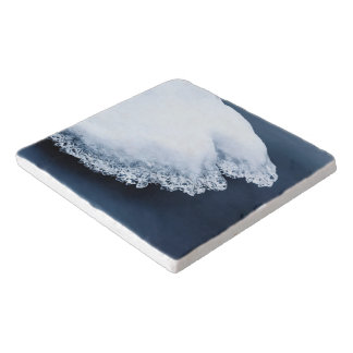 Ice, snow and moving water trivet