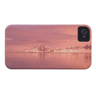 Ice, Snow, Icebergs in the channels along the iPhone 4 Case-Mate Case