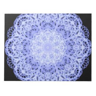 Ice Swirls Mandala Notepads