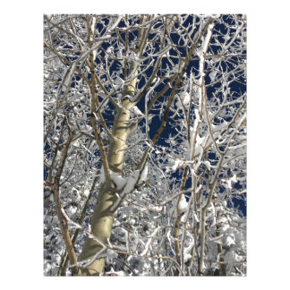 Ice Trees Customized Letterhead