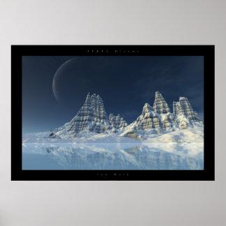 Ice Walk Poster