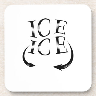 Ice x2 Baby Announcement  for Pregnancy Women Coaster