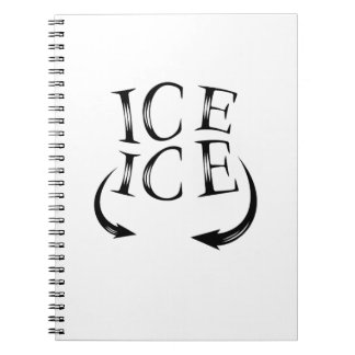 Ice x2 Baby Announcement  for Pregnancy Women Notebook