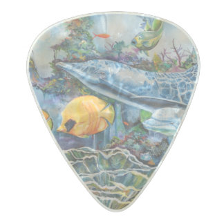 Icean Pick Pearl Celluloid Guitar Pick