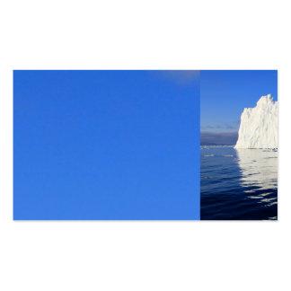 iceberg-471549 iceberg water sea mirroring natural business cards