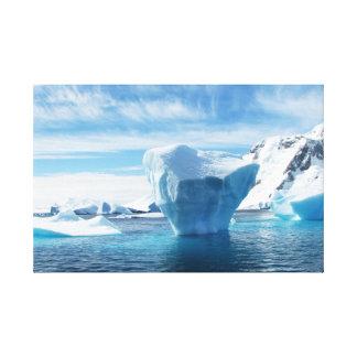 Iceberg Antarctica nature scenery Canvas Print