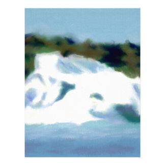 Iceberg Art Letterhead Design