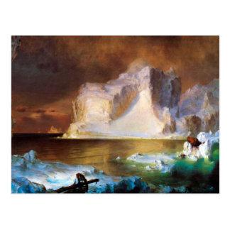Iceberg by Frederick Edwin Church Postcard