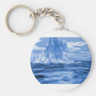 Iceberg Iceburg Basic Round Button Keychain