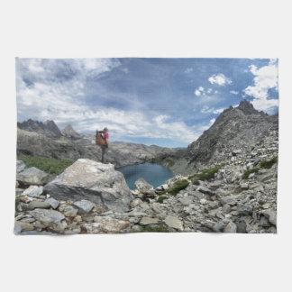 Iceberg Lake - Ansel Adams Wilderness - Sierra Kitchen Towel