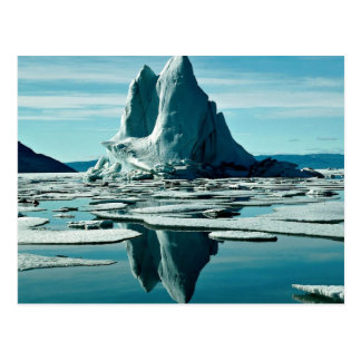Iceberg, Slidre Fiord, Eureka Weather Station, NWT Postcard