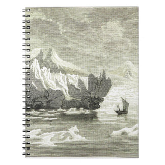 ICEBERG SPIRAL NOTE BOOKS