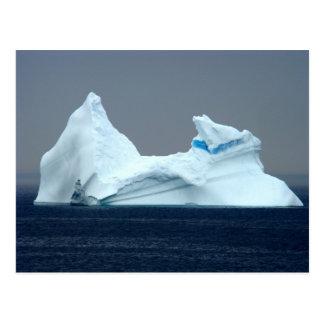 Icebergs dans Terre-Neuve Cartes Postales
