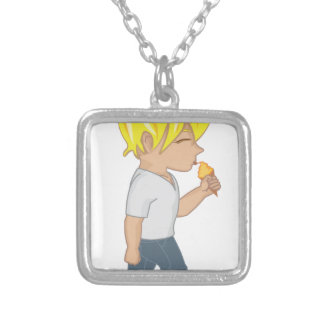 iceBoy Silver Plated Necklace