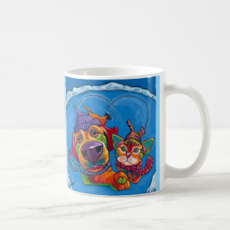 Icecapaws Mug by Ron Burns