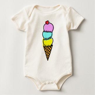 Icecream Baby Bodysuit