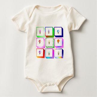 icecream boxes baby bodysuit