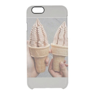 icecream clear iPhone 6/6S case