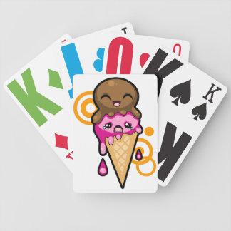 Icecream Dreams Poker Deck