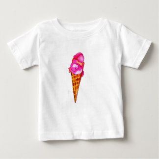 icecream gelato cute food art baby T-Shirt