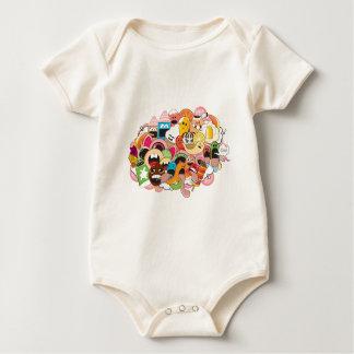 Icecream-madness Baby Bodysuit
