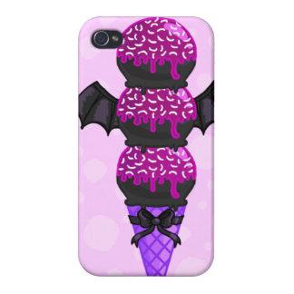 ICECREAM: (Purple Bat Version) iPhone 4/4S Case