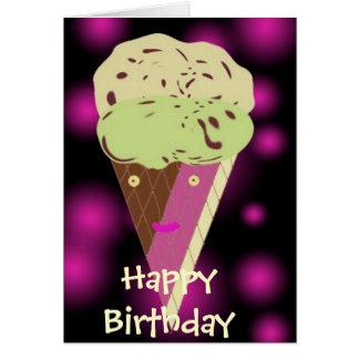 Icecreamdesign, Happy Birthday Card