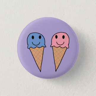 Icecreams 5 1 inch round button