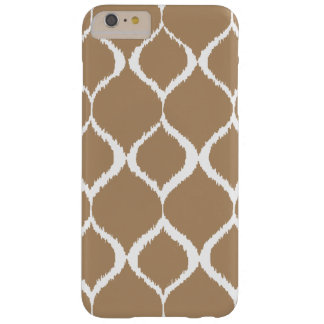 Iced Coffee Geometric Ikat Tribal Print Pattern Barely There iPhone 6 Plus Case