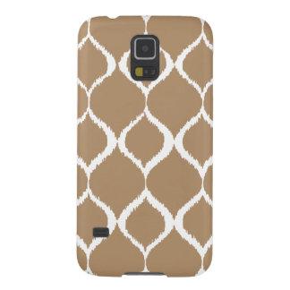 Iced Coffee Geometric Ikat Tribal Print Pattern Case For Galaxy S5