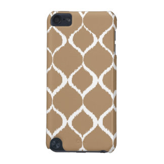 Iced Coffee Geometric Ikat Tribal Print Pattern iPod Touch (5th Generation) Cover
