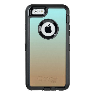 Iced Coffee Limpet Shell Aqua Sea Blue and Brown OtterBox iPhone 6/6s Case