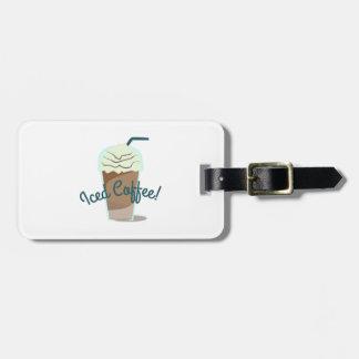 Iced Coffee Luggage Tag
