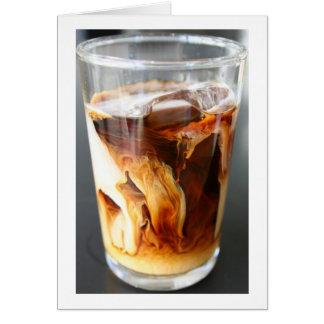 iced coffee - notecard