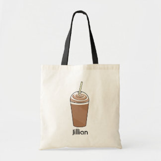 Iced Coffee To Go With Whipped Cream Tote Bag