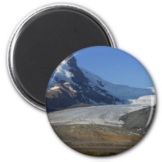 Icefields Parkway Glaciers Snow Canada Magnet