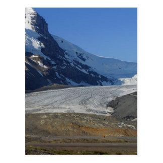 Icefields Parkway Glaciers Snow Canada Postcard