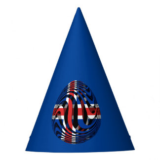 Iceland #1 party hat