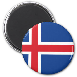 Iceland.ai 2 Inch Round Magnet