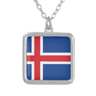 Iceland.ai Silver Plated Necklace