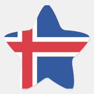 Iceland.ai Star Sticker
