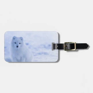 iceland animals power white luggage tag