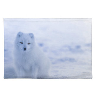 iceland animals power white placemat