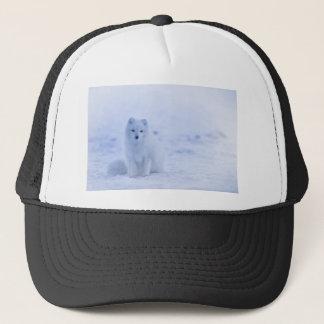 iceland animals power white trucker hat