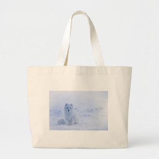 Iceland Arctic Fox Large Tote Bag