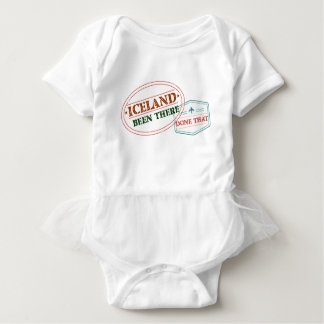 Iceland Been There Done That Baby Bodysuit