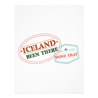 Iceland Been There Done That Letterhead
