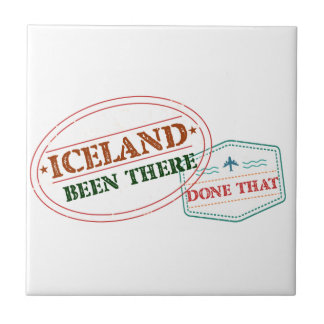 Iceland Been There Done That Tile