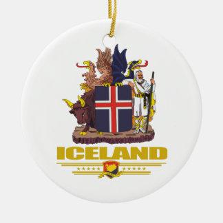 Iceland COA Ceramic Ornament