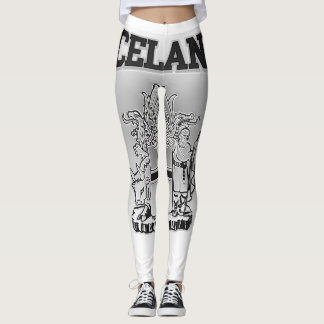 Iceland  Coat of Arms Leggings